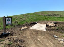 trail exit _Trashmore