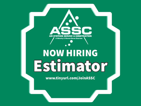 Job Openings: Estimator- Roles & Responsibilities