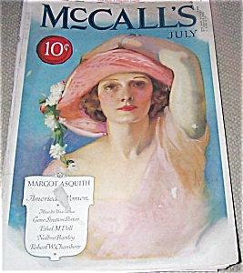 Neysa Mcmein Mccalls Magazine Cover Print 1920's