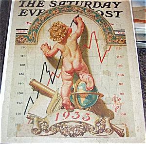 Jc Leyendecker Vintage Saturday Evening Post Cover Art