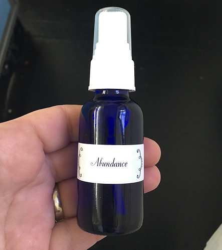 Essential oil Aura & Room Spray - Abundance - Manifesting, Manifestation Work