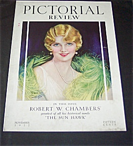 Earl Christy Pictoral Review Art Deco Flapper Cover