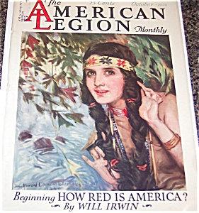 Howard Chandler Christy Indian Maiden American Legion Magazine