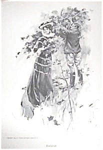 Harrison Fisher Litho Print Romance > Enslaved