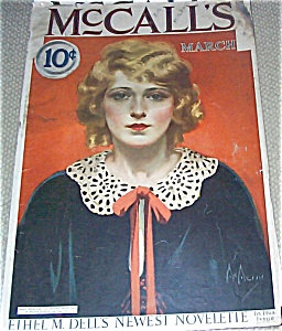 Neysa Mcmein Vintage Magazine Cover Mccalls