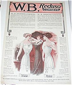 Antique & Vintage Prints Fashion Ads Ladies Corsets
