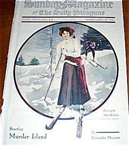Color Vintage Sunday Magazine New Orleans, La Alex O Levy Cover