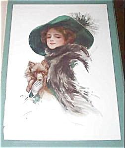 Antique Vintage Dog Art Prints Pomeranian Harrison Fisher