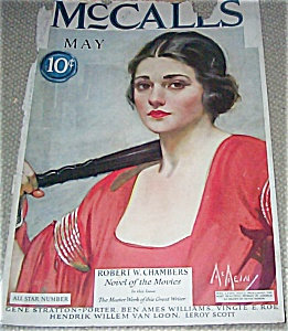 Neysa Mcmein Mccalls Cover Vintage Magazines