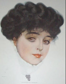 Coles Phillips Fade Away Girl Print 1911, College Girl