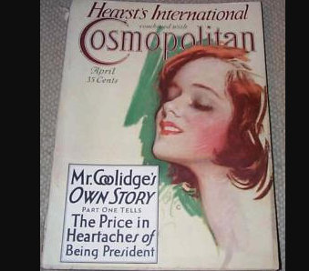 1929 Cosmopolitan Magazine Art Deco Harrison Fisher Cover, Ads, illustrations