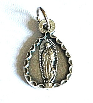 Our Lady Of Guadalupe Virgin Mary Pendant