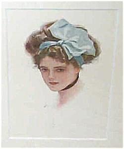 Art Print Harrison Fisher: Beautiful Ladies