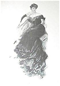 Antique Harrison Fisher Print Illustration