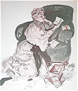 Henry Hutt Original Print: Glowing Embers: Romance