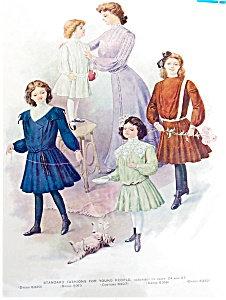 Antique & Vintage Prints Fashion Ads Kitten & Pink Rose