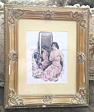 Vintage Bedroon Vanity Print Susan Lenox Howard Chandler Christy