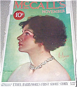 Vintage Magazines: Neysa Mcmein Mccall's Magazine Cover Art
