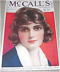 Vintage 1920's Mccalls Magazine Cover Art By P.hill