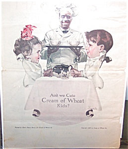 Kitchen Prints Signed Vintage Cream Of Wheat Cereal Ad