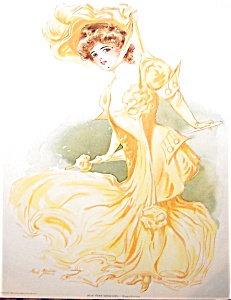 Antique & Vintage Prints Fashion Ads Maud Stumm: Parasol