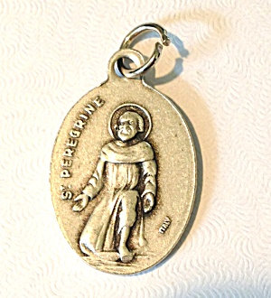 St. Peregrine Holy Medal Patron Saint Of Cancer Patients