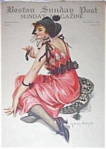 Antique & Vintage Prints: Illustrations: Post-earl Christy