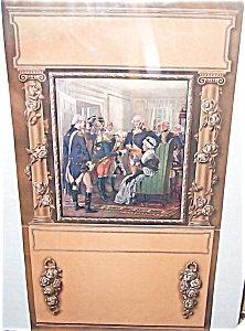 Vintage George Washington Art Calendar Print Ogden