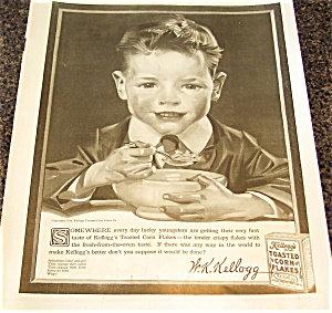 Vintage Kellogg's Cereal Ads: Jc Leyendecker Kitchen Print