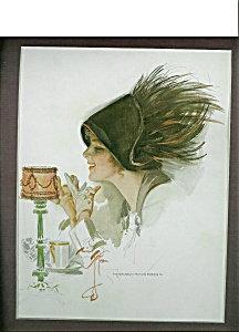 Vintage Victorian Afternoon Tea Prints: Harrison Fisher Chocolate