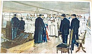 Howard Chandler Christy Prints: Navy Sailors At Sea 1898