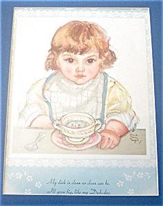Vintage Prints: Children ; Maud Tousey Fangel: Kitchen