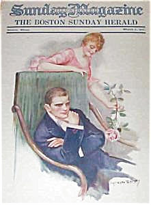 Vintage Prints: Illustrations: Magazine -earl Christy Cover