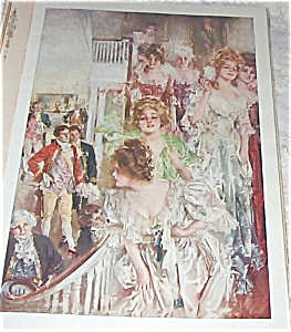 Howard Chandler Christy Prints Colonial Girl
