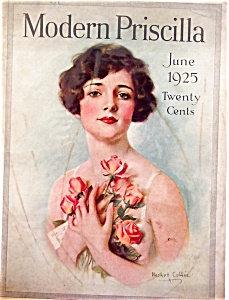 Haskell Coffin Modern Priscilla Vintage Magazine Cover Art