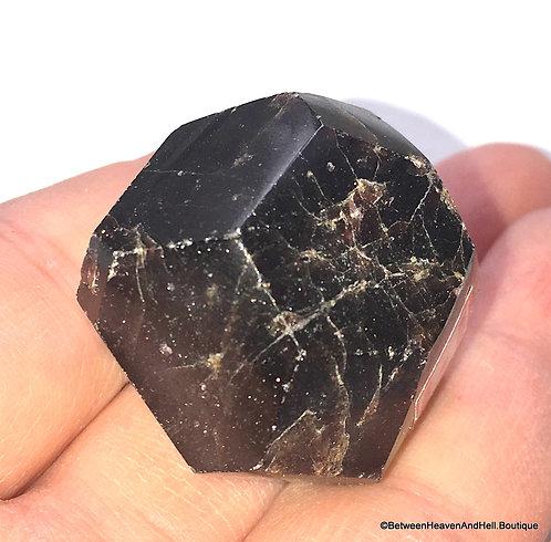Highly Charged Natural Garnet Crystal, Personal Power, Manifesting, Kundalini