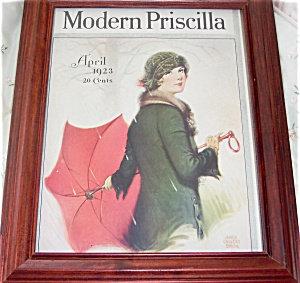 James Clavert Smith Modern Priscilla Spring Print: Deco Lady
