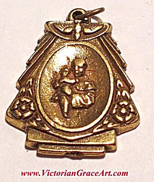 Vintage Saint Anthony Pendant Ladies Mens Religious Medals