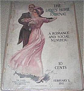 Back Issue Vintage Ladies Home Journal Harrison Fisher Art