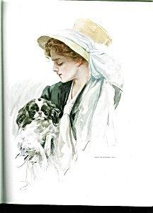 Antique Vintage Dog Art Prints: Harrison Fisher Pekingese