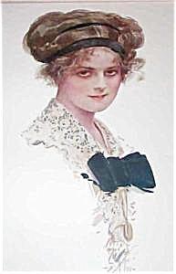 Harrison Fisher Edwardian Lady Print