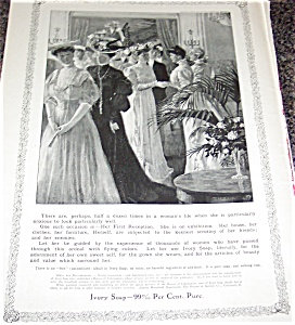 Ivory Soap Ad Illustration: Victorian Party