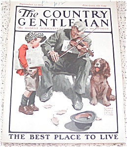 William Meade Prince Country Gentlemen Magazine Cover Art 1924