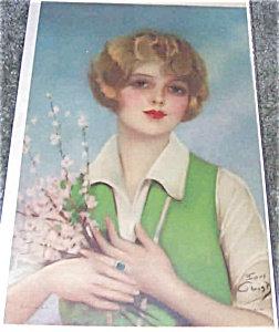 Antique & Vintage Prints: Earl Christy Lady-apple Blossoms