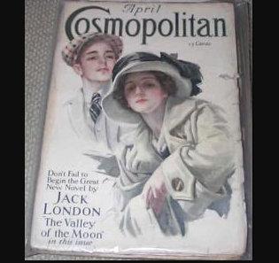 1913 Cosmopolitan Magazine Back Issues Harrison Fisher Romance Cover Art, Ads