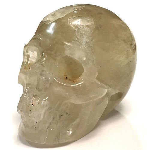 Abundance Crystals Activated Citrine Crystal Skull Prosperity Energy Generator
