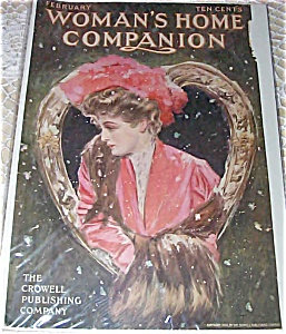 Womans Home Companion Cover: Valentines Day Henry Hutt