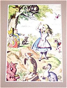 Vintage Prints: Babies & Children: Alice In Wonderland
