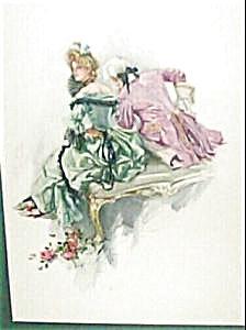 Harrison Fisher Print Victorian Masquerade Ball