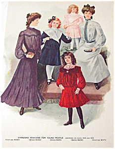 Vintage Fashion Illustration: For Young People